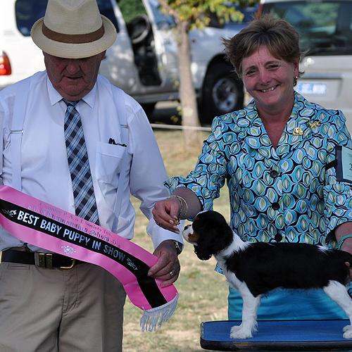 Jamie & Margaret Best Baby Puppy In Show